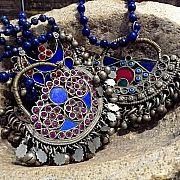 afghan lapis pendant