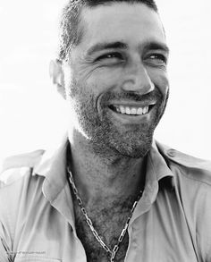 That 5 o'clock shadow gets be every time. Matthew Fox