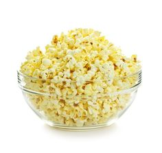 I love salted popcorn popped in fat - no air-popped stuff for this guy.  I could eat quarts of this stuff