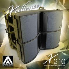 X210 line array brochure by Amate Audio - issuu