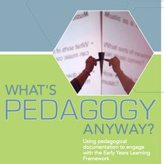 What's Pedagogy Anyway? - Using pedagogical documentation to engage with the Early Years Learning Framework: Early Education, Early Childhood Education, Kids Education, Learning Centers, Early Learning, How Does Learning Happen, Emergent Curriculum, Reflective Practice, Family Day Care