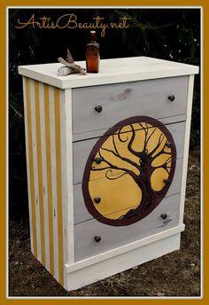 ART IS BEAUTY: TREE OF LIFE Fenner Auction Dresser