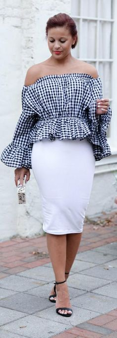 The Perfect Gingham / Fashion by Fashionably Lo