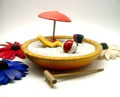 A Day at the Beach Zen Garden by holzfurhaus on Etsy
