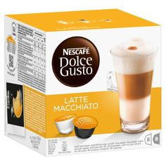 Nescafe Dolce Gusto Latte Macchiato Kaps. - http://teacoffeestore.com/nescafe-dolce-gusto-latte-macchiato-kaps/