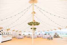 Sperry Tent by Papakata For A Coastal Wedding In The North East With Bride In Lusan Mandongus With Images by Georgina Harrison