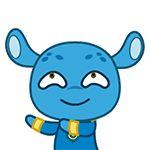 31 Funny alien rabbit emoj gifs Aliens Funny, Smurfs, Rabbit, Fonts, Gifs, Chinese, Cute, Fictional Characters, Rabbits