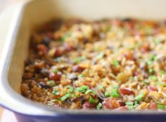 lisa is cooking: Vegan Cajun-spiced Dirty Rice...pinning this so I have the recipe for tomorrow night!