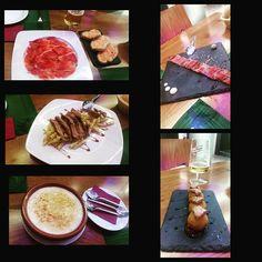 Saboreando aun la cenita de anoche en @casatonorestaurante Buenisimo todo! 100% recomendable  las croquetas de manzana verde.....  by nat88tfe