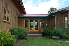 Breezeway ideas exterior rustic with standing seam roof metal roof standing seam roof