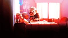 "The end of the opening montage in ""Up"": 
