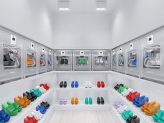 Retail Design | Footware | Store Design | Shop Interiors | 3D printed shoes