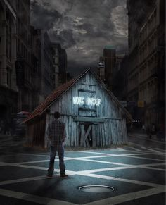 Step Out Of Your Comfort Zone: The Superb Creative And Dreamlike Photo Manipulations By Aaron Elliott Vintage Comic Books, Vintage Comics, Rose Flower Wallpaper, Walking Dead Characters, Famous Cartoons, Japanese Artists, Comic Book Covers, Secret Life, Street Artists