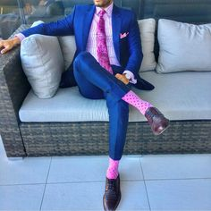 Having a pink moment with our friend @the_classy_lad 💕 #swankysocks #swankysocksofficial