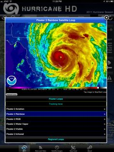 best hurricane tracking app iphone
