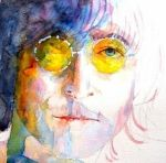 The Beatles Art - John Winston Lennon by Paul Lovering #baby #boomers #babyboomers