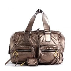 """Chloe Betty Satchel Bag - love this bag (I have in black). I called the biggest Fashionista handbag expert I know, my bestie, and asked her what her """"go to"""" bag was. Found it on Ann's Fabulous Finds for $720, retailed for $2000. High-end consignment web sites - best kept secret."""