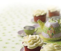 Anna Olson's Red Velvet Cupcakes, made traditionally with beets!