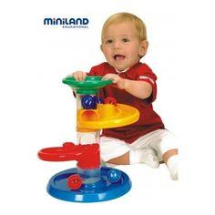 Raceball Percurso de bolas. Brincar e Aprender. Brinquedos didácticos para crianças www.planetadidactico.com