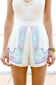 Neo Mex Daydream Shorts Boho Summer Outfits, Boho Outfits, Spring Summer Fashion, Cute Outfits, Sexy Shorts, Cute Shorts, Gym Shorts Womens, Sabo Skirt, Trendy Clothes For Women