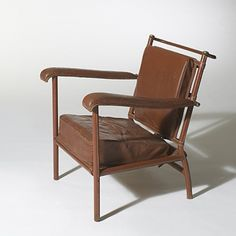 Jacques Adnet, Lounge Chair, c1955.