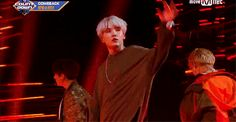 yoongi, honey, you're supposed to drop the mic not toss it across the stage.