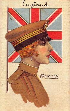 Cherubini, England, 1916