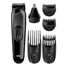 Braun BRAMGK3020 Using the two fixed combs, you have 13 precision length settings in 2mm steps, so you can have the precise look you want time after time. There is also a precision trimmer and free Gillette Flexball w http://www.MightGet.com/may-2017-1/braun-bramgk3020.asp