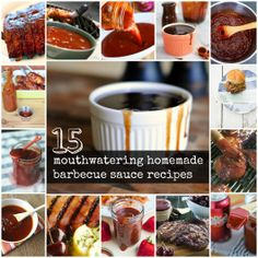 15 mouthwatering homemade bbq sauce recipes!