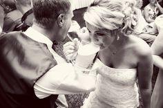 Love this of the bride and groom! Photo by Sarah M. #Minnesota #weddings #brideandgroom