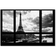 Trademark Fine Art 'Good Morning Paris!' Canvas Art by Philippe Hugonnard, Size: 30 x 47
