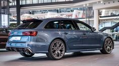 2016 AUDI RS6 Performance Exclusive in Polarbleu