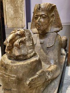 Ancient Egyptian Statues, Broken Nose, Eye Of Ra, Cairo, Fantasy Art, Museum, Symbols, Vase