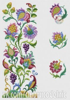 Jacobean crewel embroidery                                                                                                                                                     More