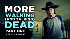 A Bad Lip Reading Parody of AMC's Television Series 'The Walking Dead' Season Four