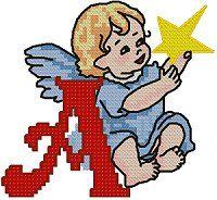 Oh my Alfabetos!: Alfabeto navideño para bordar.