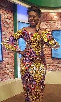 Ghanaian Fashion, Latest African Fashion Dresses, African Dresses For Women, African Print Dresses, African Print Fashion, African Attire, African Women, Nigerian Fashion, African Prints