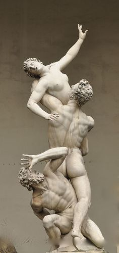 The Rape of the Sabine Women, par Giambologna Steinmetz, Greek Statues, Marble Art, Classical Art, Oeuvre D'art, Installation Art, Sculpting, Fine Art, European Dating