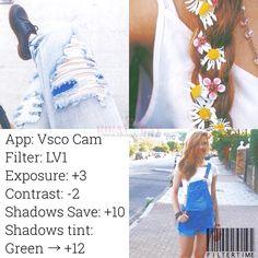 Part 1: 84 of the BEST Instagram VSCO Filter Hacks
