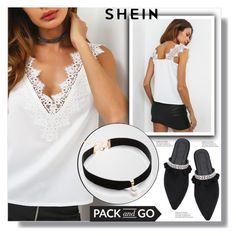"""""""// SheIn, street style 10/10//"""" by sajra-de ❤ liked on Polyvore featuring AYTM"""