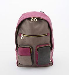 Color block backpack / ShopStyle(ショップスタイル): Another Edition AE PK リュック