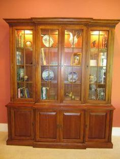 Lexington Bob Timberlake Cherry China Display Cabinet 2