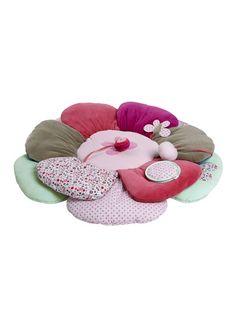 Tapis d'éveil bébé avec sac de transport flor'ailes MULTICOLORE - vertbaudet enfant