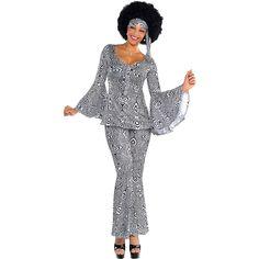 Adult Dancing Queen Disco Costume Image #1