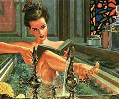 Read in the bath