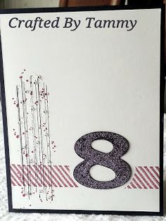Crafted By Tammy: Numbers, numbers, and more numbers!