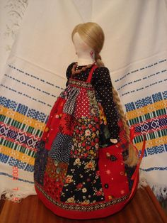 Народная кукла Crochet Doll Clothes, Sewing Dolls, Homemade Dolls, Clothespin Dolls, Pretty Dolls, Soft Dolls, Doll Crafts, Custom Dolls, Fabric Dolls