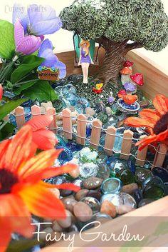 DIY Fairy Garden - via Creativity Unleashed Ceramics ≈≈