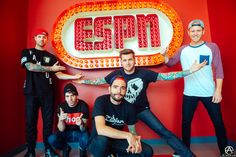 ESPN with A Day To Remember, this is their original sign. full set- http://adamelmakias.com/live/photos-from-the-parks-and-devastation-tour-part-1/