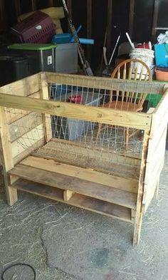 「pallet hay feeder」の画像検索結果 Goat Farming, Homesteading, Goats, Goat